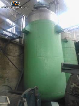 Reatores Químicos para Indústrias Químicas, agro, alimentares, farmacêuticas, tintas, etc.