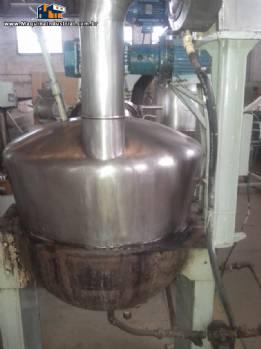 Buller em aço inox para 200 L