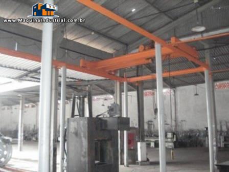 Indústria completa para fabricação de rodas