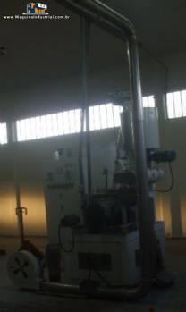 Linha para extrusão de barras de cereais Inbramaq