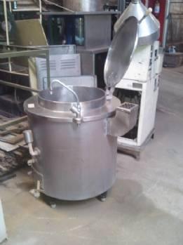 Panelão 50 litros em aço inox