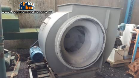Exaustor industrial marca Projelmec modelo CLS - 900 R - 90