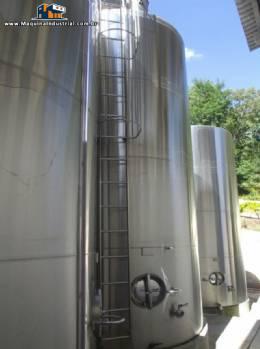 Tanque de inox de 25.000 litros