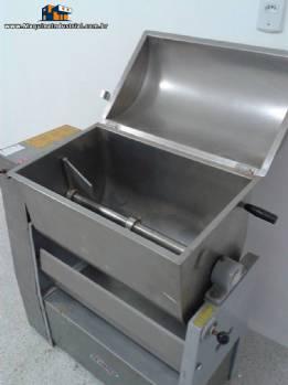 Misturador industrial paracarnes, pós e granulados em aço inox