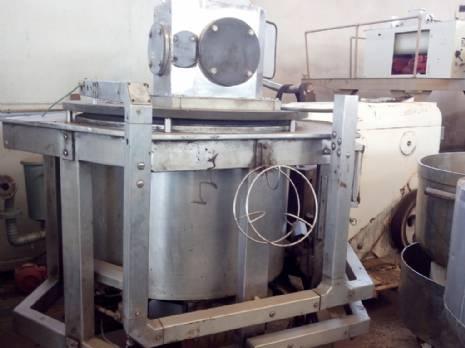 Tanque misturador industrial para creme Damix