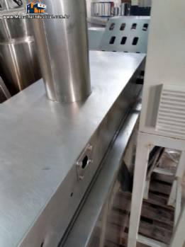Fritador contínuo de salgados MCI