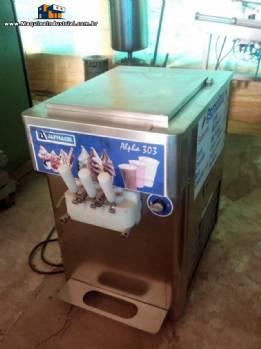 Maquina de sorvete soft Alphagel Carpigiani