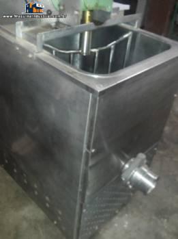Tacho misturador de 80 litros com sistema de aquecimento