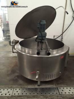 2 Caldeirão industrial autônomo ( ou autogerador de vapor ) a gás 1000 em aço inox 304